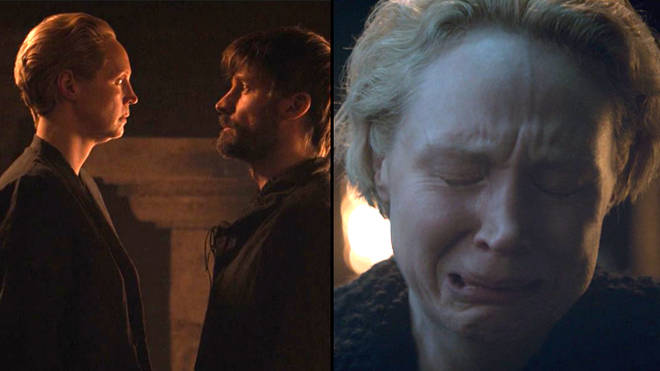 Brienne crying
