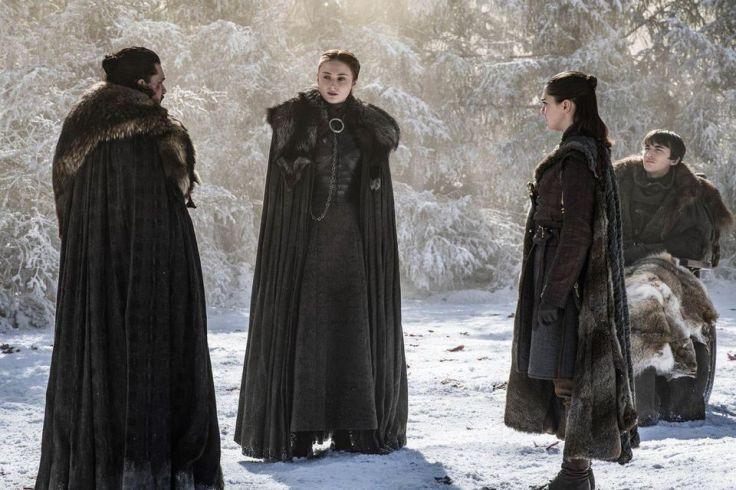 Starks together